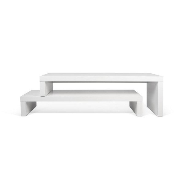 Temahome Cliff TV Stand - Pure White - 9000.638626