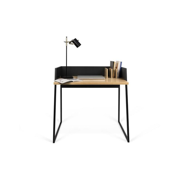 Temahome Volga Desk - Oak/Pure Black - 9003.052965