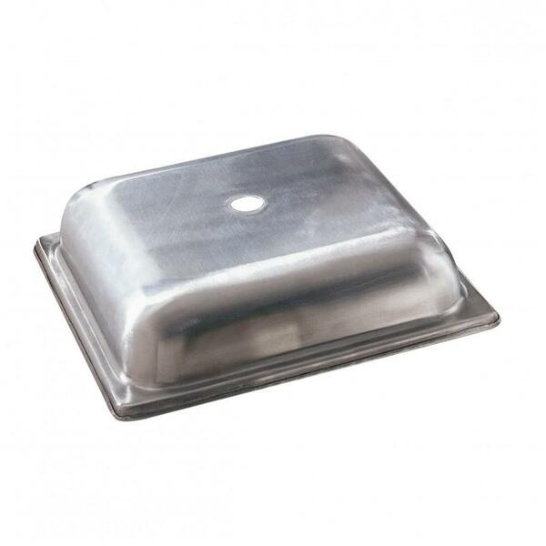 """10 Strawberry Street 11"""" Square Metal Plate Cover- Pack Of 32 11SQPLTCVR"""