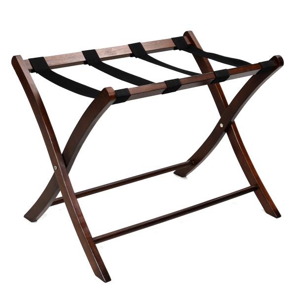 Folding Winsome Wood Luggage Rack Hotel Passenger Suitcase Stand HW48548