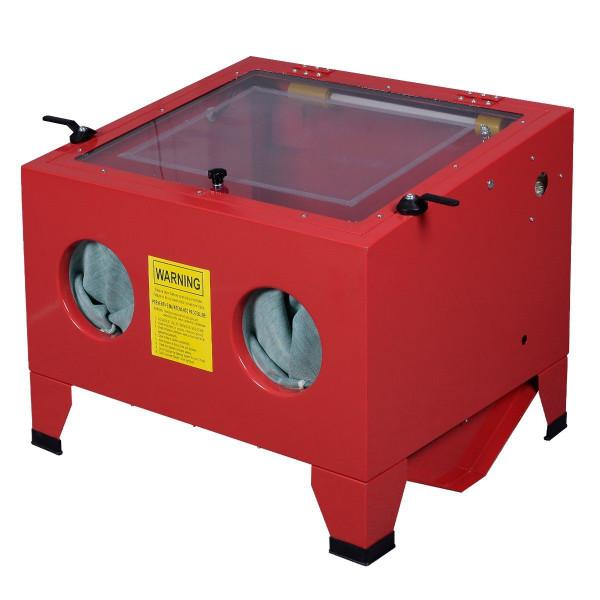 25 Gallon Bench Top Sandblasts Cabinet Air Sand Blaster Sand Blast Sandblast New TL28589-110V