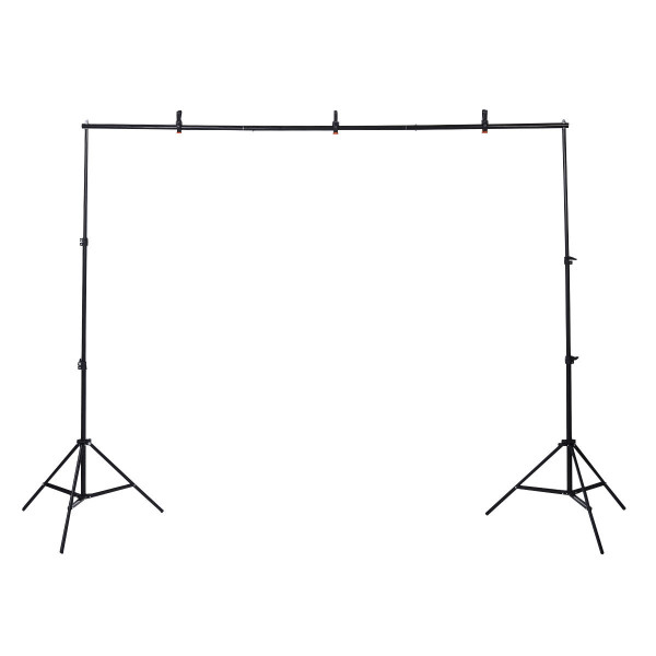 10Ft Adjustable Background Support Stand Photo Backdrop Crossbar Kit Photography ST34626