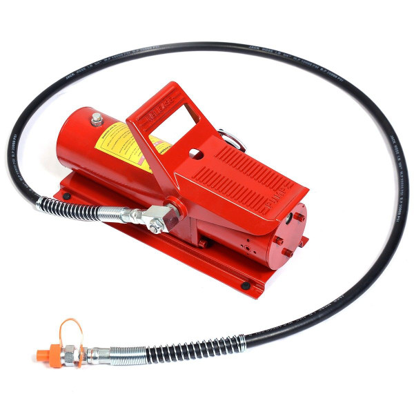 10 Ton Porta Power Hydraulic Air Foot Pump Control Lift Replacement TL31091