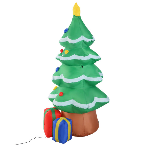 4 Ft Waterproof Inflatable Christmas Tree Decoration CM19742
