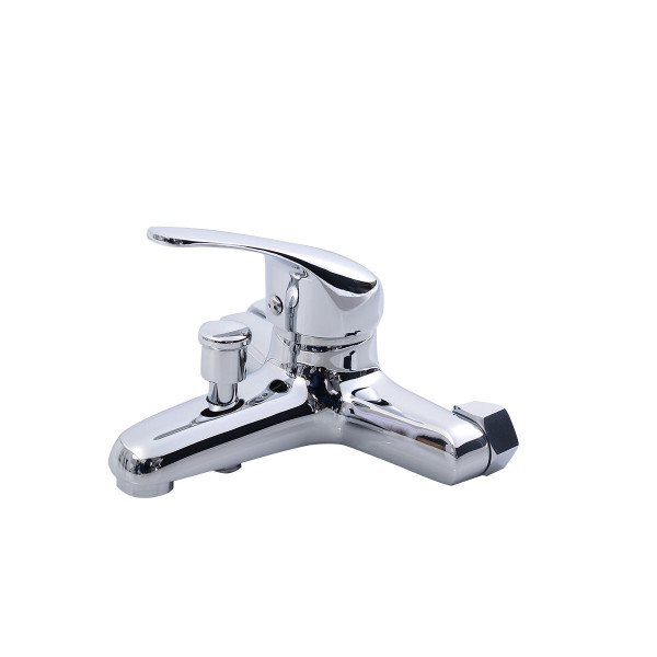 Kitchen And Bathroom Chrome Basin Wash Faucet Hot/Cold Mixer Water Tap BA7047