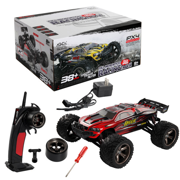 1:12 2.4G High Speed Rc Car Off Road Racing Monster Truck Buggy Toy-Red TY562684RE