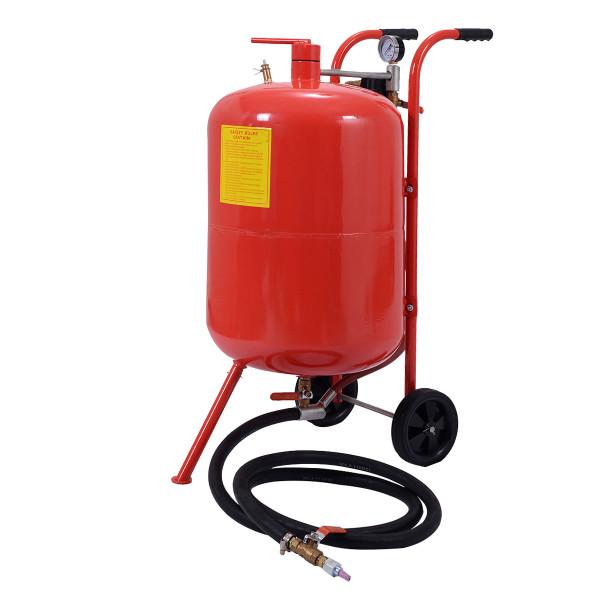 20 Gallon Air Media Abrasive Sandblaster Sand Blaster AT4583