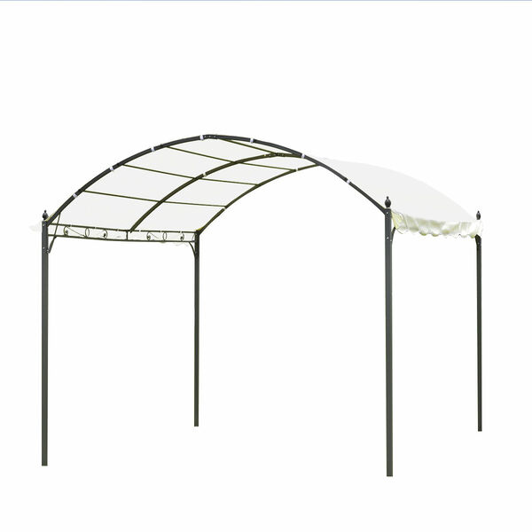 10' X 10' Outdoor Canopy Tent Awning Arch Style-Beige OP3114BE