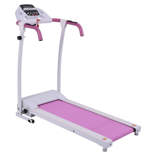 800 W Folding Fitness Treadmill Running Machine-Pink SP37066PI