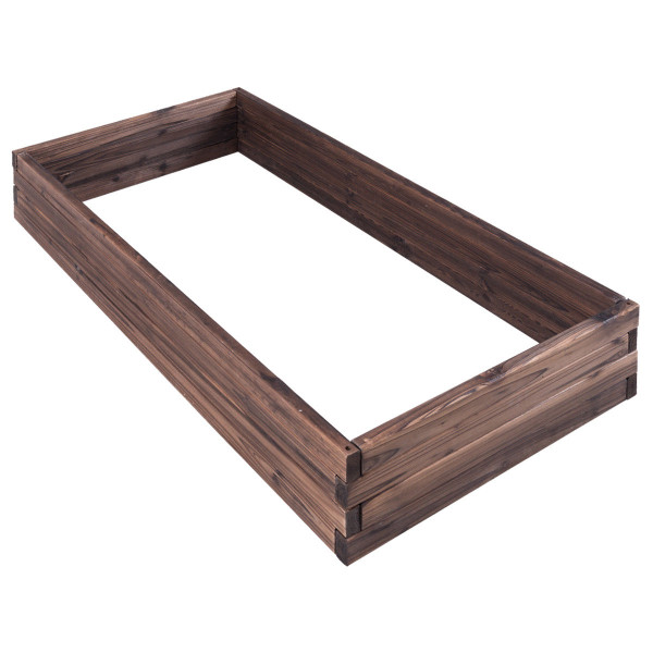 Elevated Wooden Garden Planter Box Bed Kit GT3206