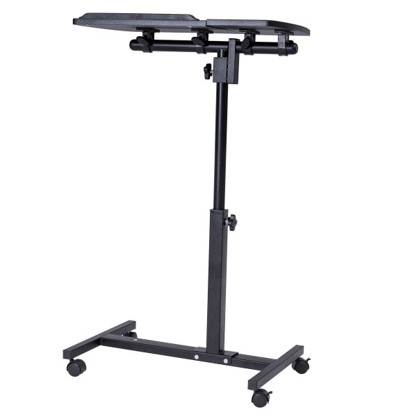 Rolling Angle And Height Adjustable Laptop Desk HW56538