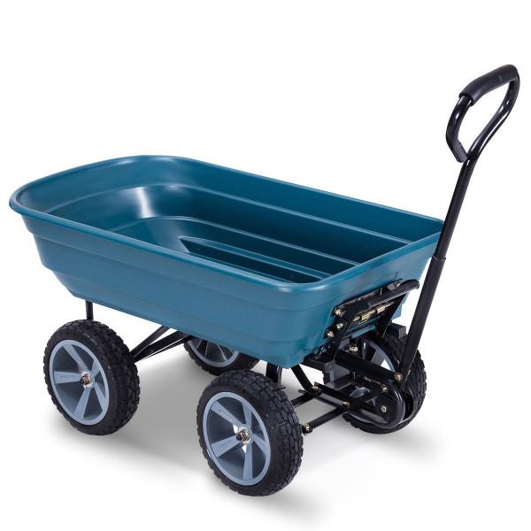 Heavy Duty Garden Dumper Wagon Carrier Wheel Barrow Cart GT3217