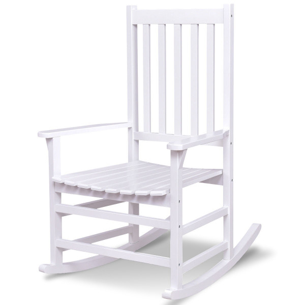 Indoor Outdoor Solid Wood Porch Rocking Chair HW56203