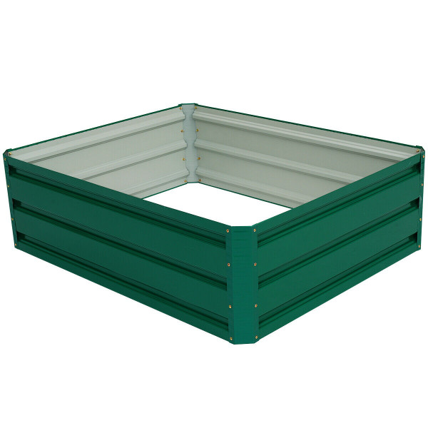"""39.5"""" X 31.5"""" Patio Raised Garden Bed For Vegetable Flower Planting GT3030"""