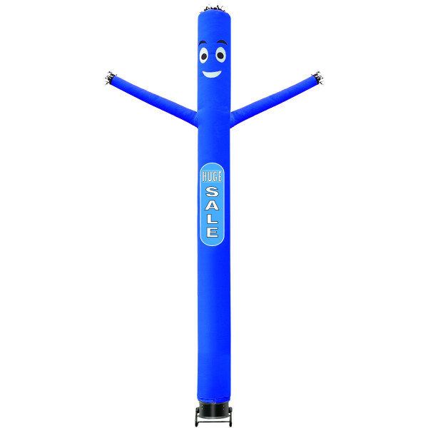 20Ft Inflatable Air Dancer Puppet Tube With Blower-Blue OP3632BL
