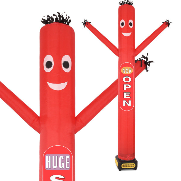10Ft Inflatable Air Dancer Puppet With Blower-Red OP3633RE