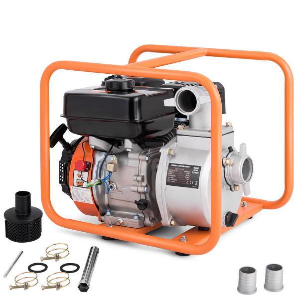 "7 Hp 4-Stroke Portable Gasoline Water Transfer Pump-2"" TL34904"