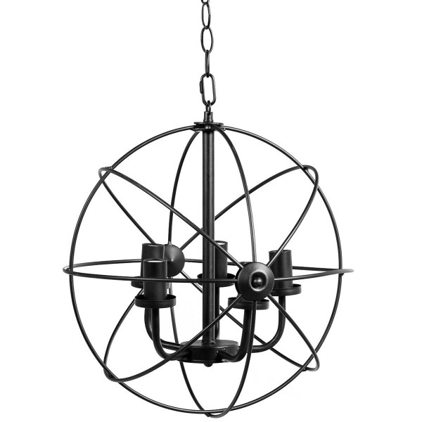 "15.7"" 5-Light Modern Chandelier For Dinning Room Bedroom EP24275"