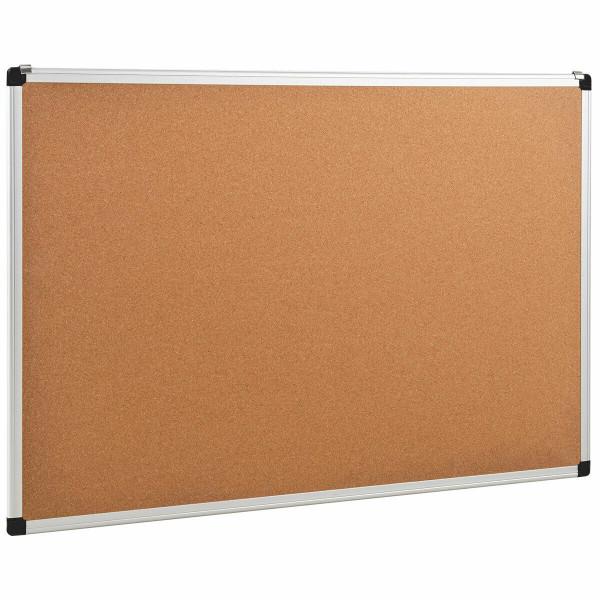"24"" X 36"" Aluminum Framed Cork Board Bulletin Board With 12 Pins-1 Pack ST39171"