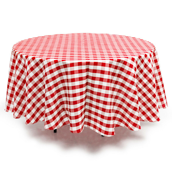 2 Pcs Stain Resistant And Wrinkle Resistant Table Cloth-Red HT1058RE