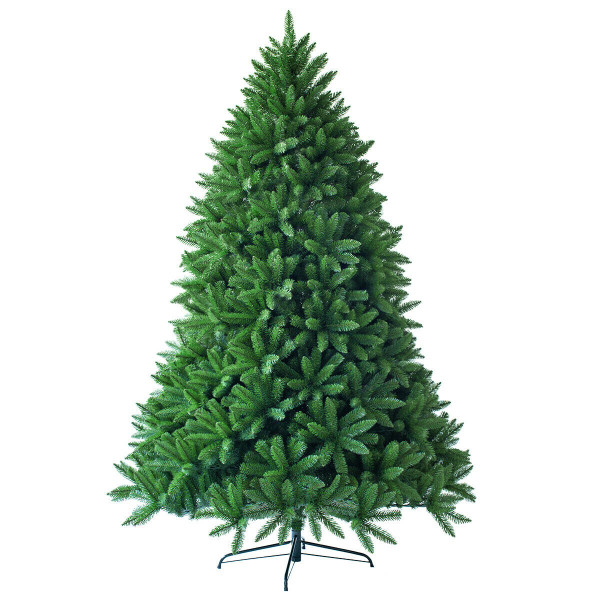 7.5 Ft Artificial Christmas Fir Tree With 1968 Branch Tips CM22058