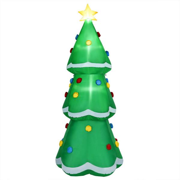 10' Inflatable Christmas Tree Led Lighted Giant Waterproof Tree CM22394