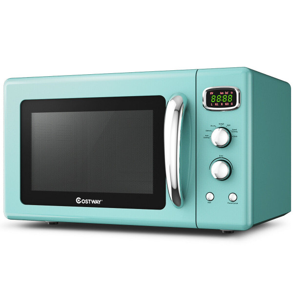 0.9 Cu.Ft Retro Countertop Compact Microwave Oven-Green EP24453GN