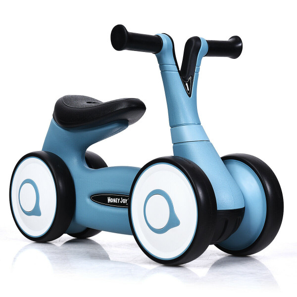 Baby Balance Bike Bicycle Toddler Toys Rides No-Pedal-Blue TY327156BL