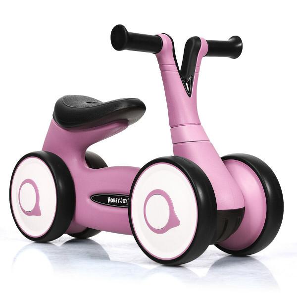 Baby Balance Bike Bicycle Toddler Toys Rides No-Pedal-Pink TY327156PI