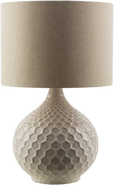 Cream Table Lamp BLA550-TBL