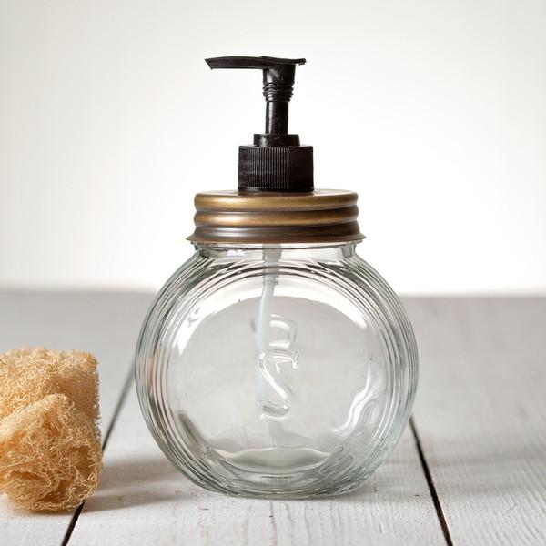CTW Home Sellers Soap Dispenser - Antique Brass 360098DBA