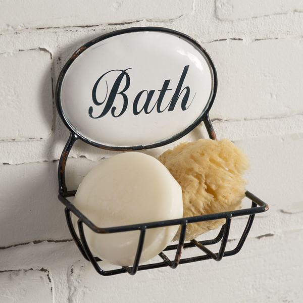 "CTW Home ""Bath"" Time Soap Holder 530210"