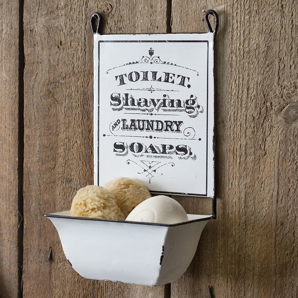 CTW Home Hanging Farmhouse Soap Dish (Pack Of 2) 770179