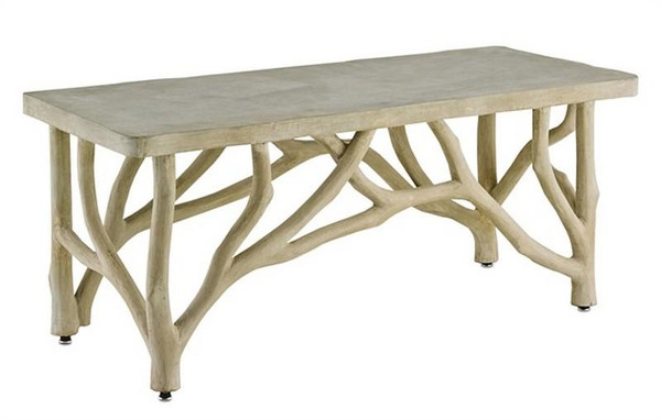 Currey Portland Creekside Table/Bench 2038