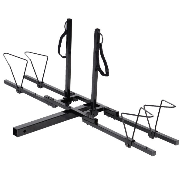 "2"" Heavy Duty 2 Bicycle Hitch Mount Carrier AT3698"