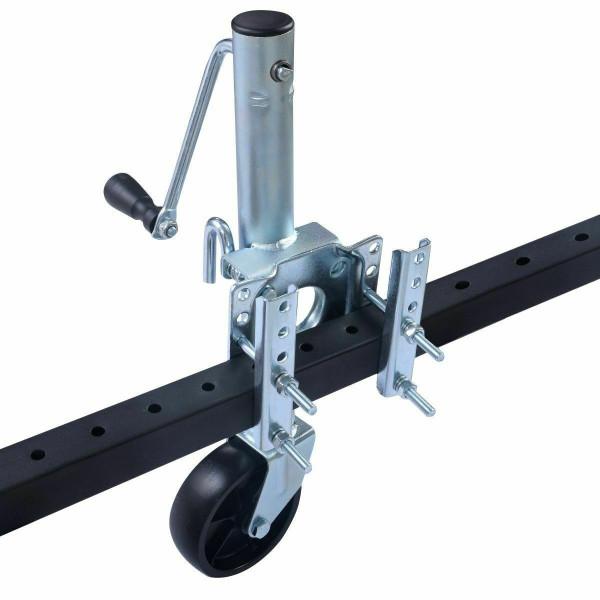 1000 Lbs Trailer Side Swivel Boat Rv Swing Away Camper Wheel AT4954