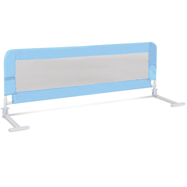 "59"" Breathable Baby Children Toddlers Bed Rail-Blue BB0454BL"