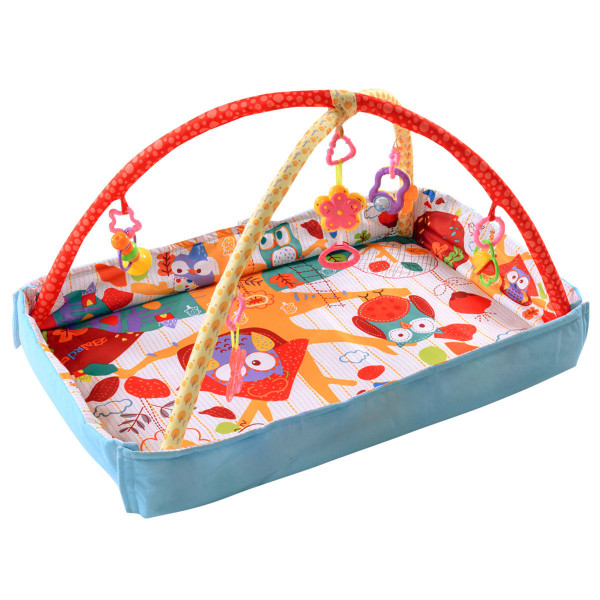 3 In 1 Multifunctional Musical Hanging Toys Play Mat BB4893