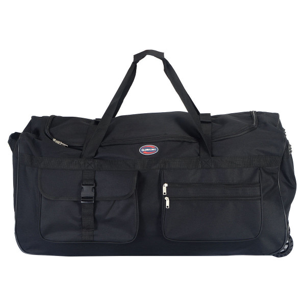 "36"" Rolling Wheeled Tote Duffle Bag Travel Suitcase BG49711"
