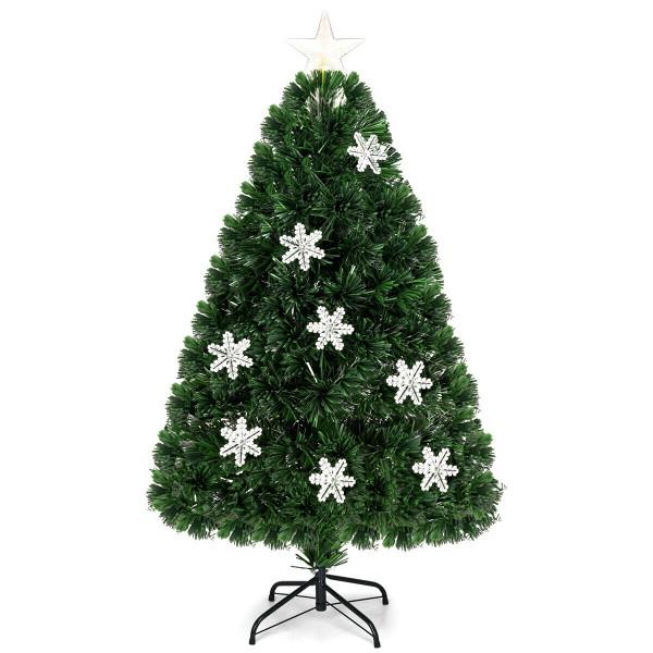 4 Ft Pre-Lit Fiber Optic Artificial Christmas Tree CM20528