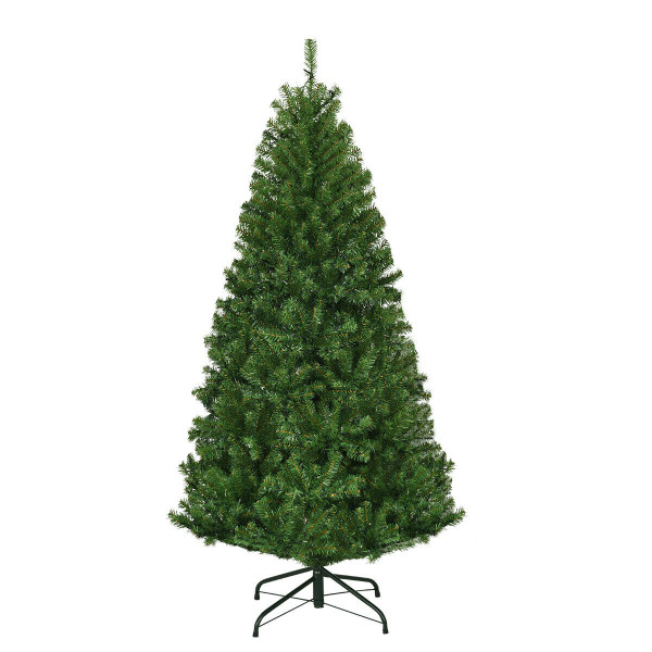 5' / 6' / 7' / 8' / 9' Artificial Premium Hinged Christmas Tree With Led Lights-4' CM20677