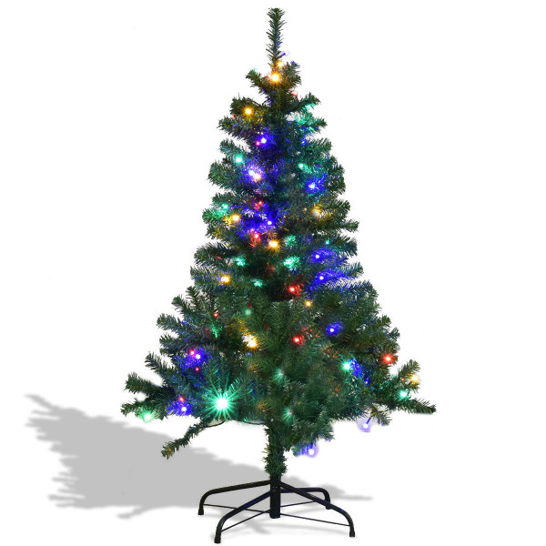 5' / 6' / 7'/ 8' / 9' Artificial Premium Hinged Christmas Tree With Led Lights-7' CM20680