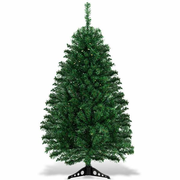 4 Ft Pre-Lit Charlie Pine Artificial Christmas Tree CM21214