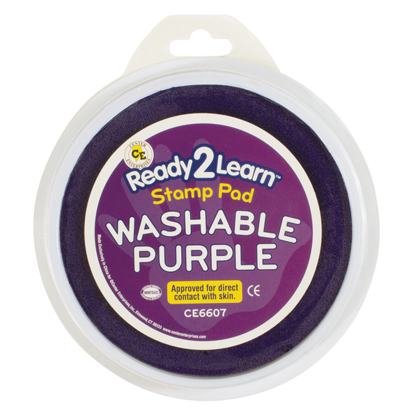 Jumbo Circular Washable Purple Pad CE-6607