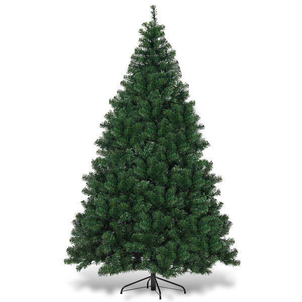 7.5 Ft Pre-Lit Artificial Christmas Tree With 550 Multicolor Lights CM21224