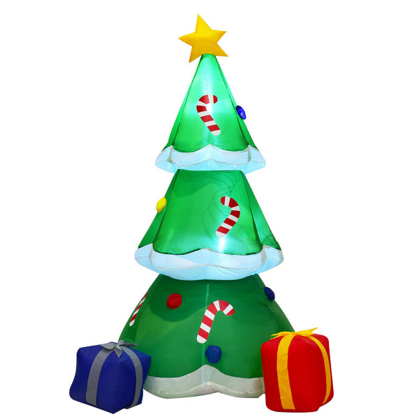 6' Outdoor Inflatable Decoration Christmas Tree With Gift Boxes CM21232