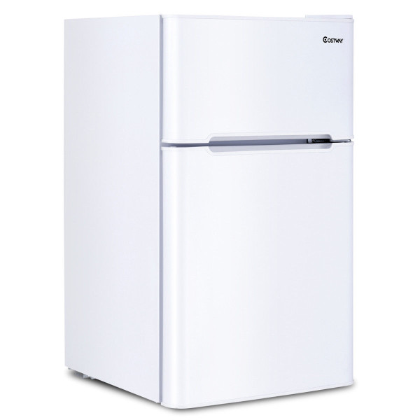 3.2 Cu Ft. Compact Stainless Steel Refrigerator-White EP22672WH