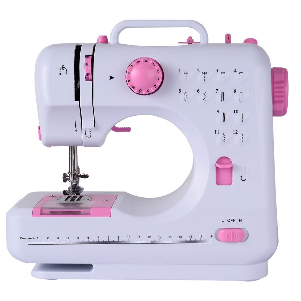 Free-Arm Crafting Mending Sewing Machine With 12 Built-In Stitched EP22773