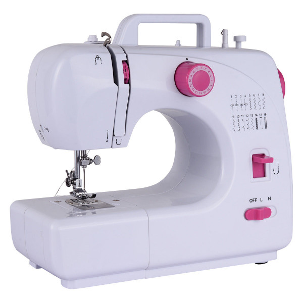 Free-Arm Crafting Sewing Machine With 16 Built-In Stitches EP22774