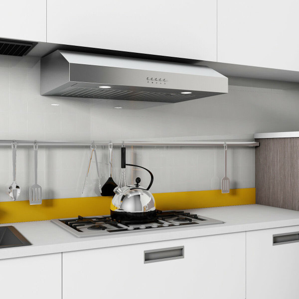 "69W 30"" Under Cabinet Kitchen Range Hood With Stainless Steel EP23444"